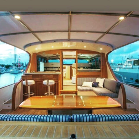 Palm Beach Motor Yacht Boat Style Design