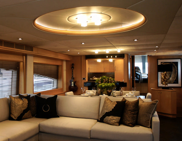 Royal Denship 87 by Boat Style Yacht Interiors
