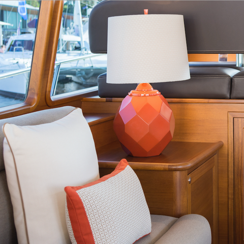 Palm Beach Motor Yacht Interior Design by Boat Style