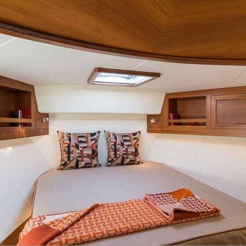 Hermes Yacht Interior by Boat Style