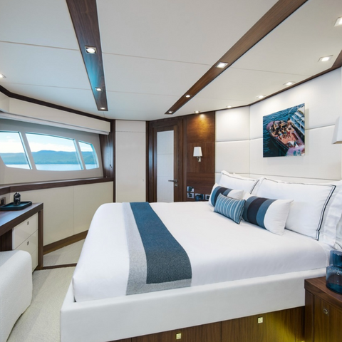 Sunseeker Predator Refit Yacht Three Rivers