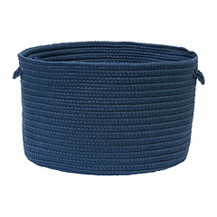 Boca Raton Braided Basket Jasmine Blue