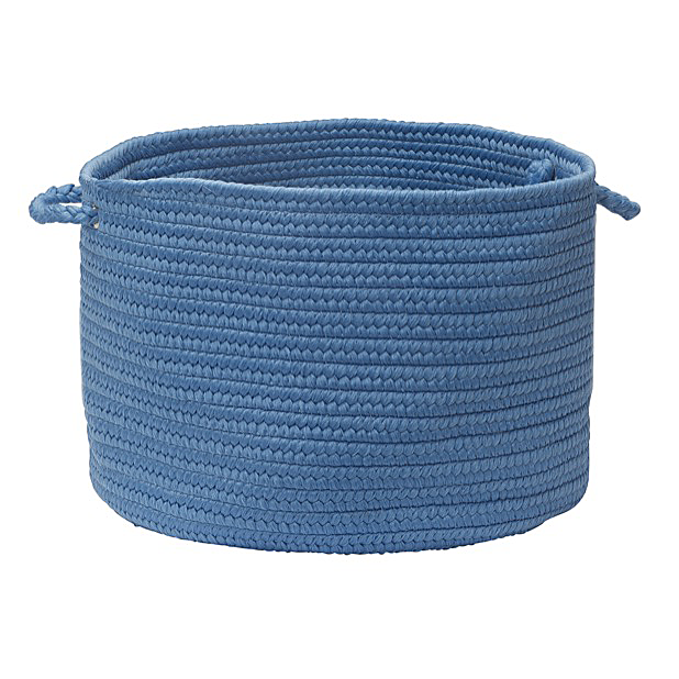 Boca Raton Braided Basket Blue Ice