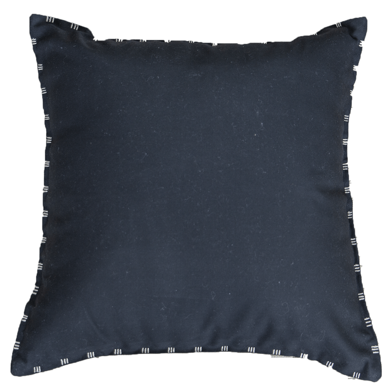 Bandhini Outdoor Black & Beige Reverse Lounge Cushion
