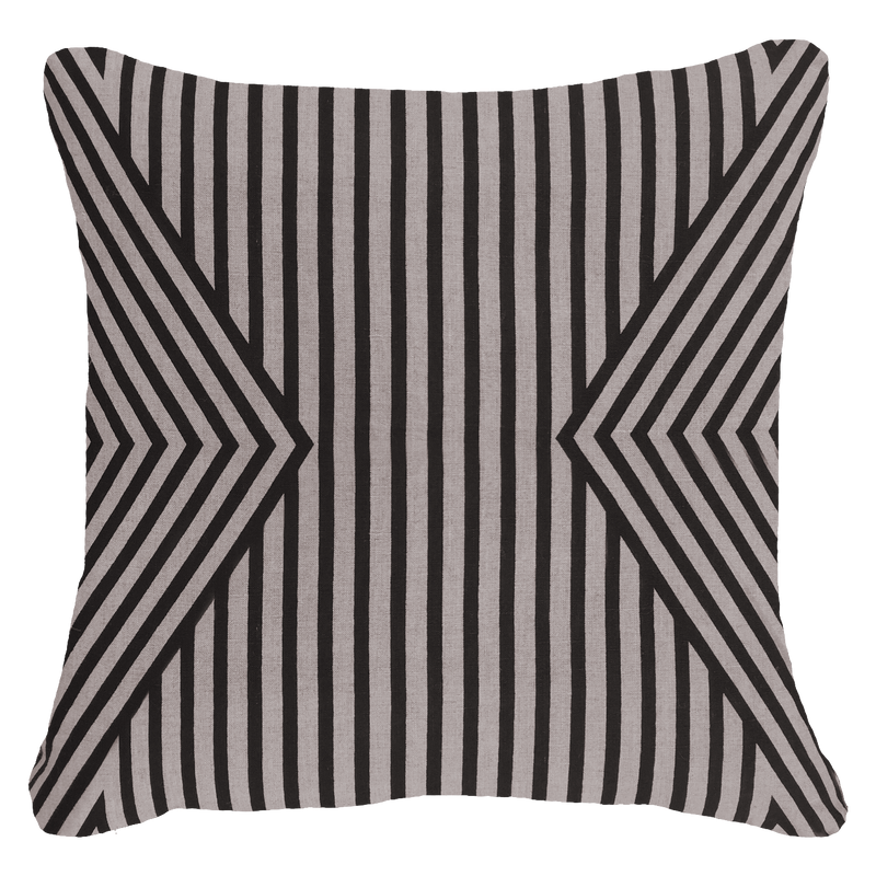 Bandhini Outdoor Black Parasol Lounge Cushion