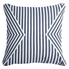 Bandhini Outdoor Navy Parasol Lounge Cushion