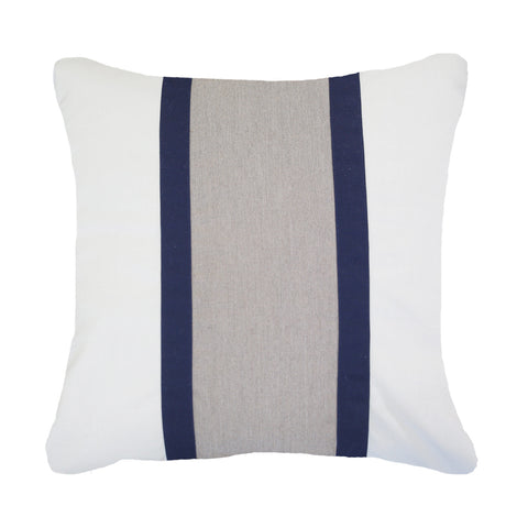Bandhini Outdoor Navy Raffia Cushion