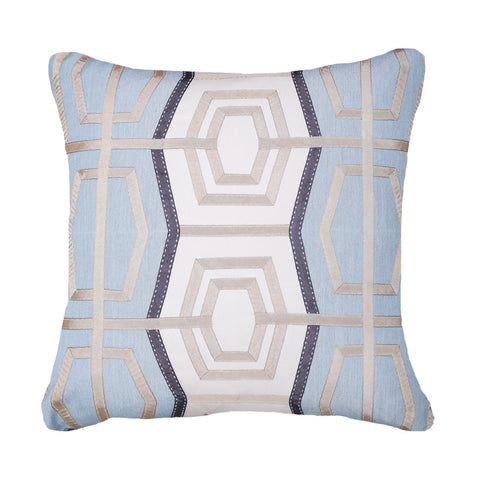 Bandhini Outdoor Celladon Rantan Cushion