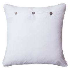 Bandhini Outdoor Cloud White Reverse Lounge Cushion