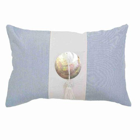 Bandhini Outdoor Cloud Tassel Lumber Cushion