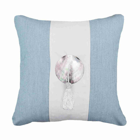Bandhini Outdoor Cloud Tassel Lounge Cushion