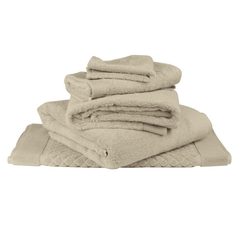 Baksana Bamboo & Cotton Towels Sand