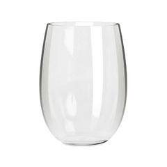 Everclear Tritan Unbreakable Stemless Wine Glasses