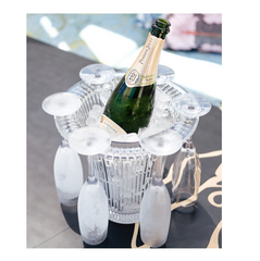 D-STILL Unbreakable Champagne Bucket & Flute Kit