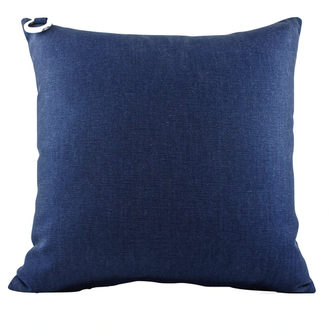 Ahoy Sailor Blue Outdoor Pillow