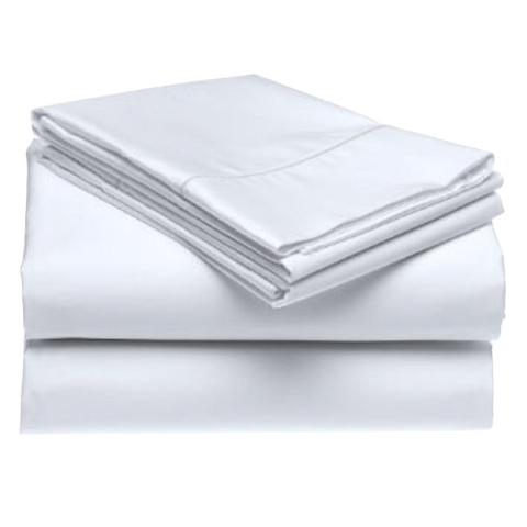 Baksana 1000 Thread Count Cotton Sheets White