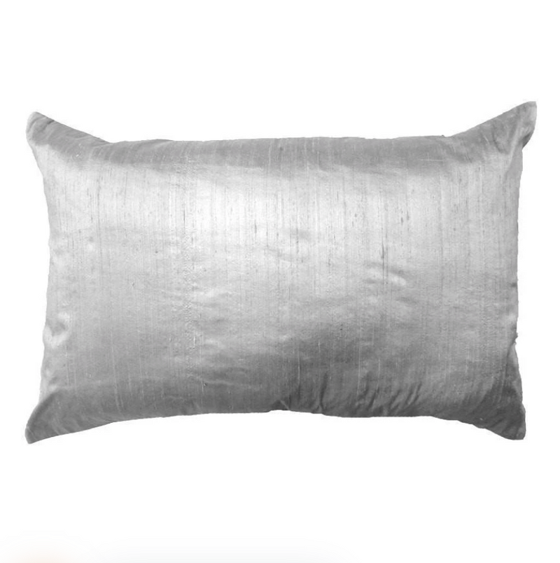 Bandhini  Silver Disc Lounge Pillow