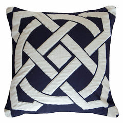 Bandhini Outdoor Navy Dial Lounge Cushion
