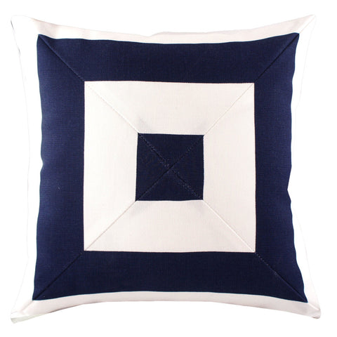 Ahoy Mitred Box Outdoor Pillow