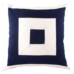 Nautical outdoor cushions and throw pillows