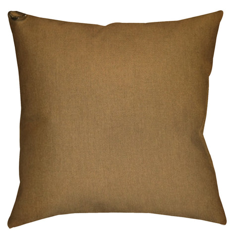 Shell Beach Sailcloth Sienna Sunbrella Outdoor Pillow