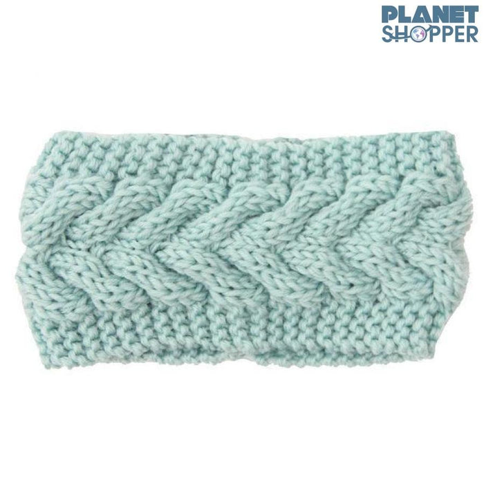 Knitted Ear Warmer Headwrap - planetshopper.net