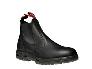 REDBACK UBBK Leather Boots Black