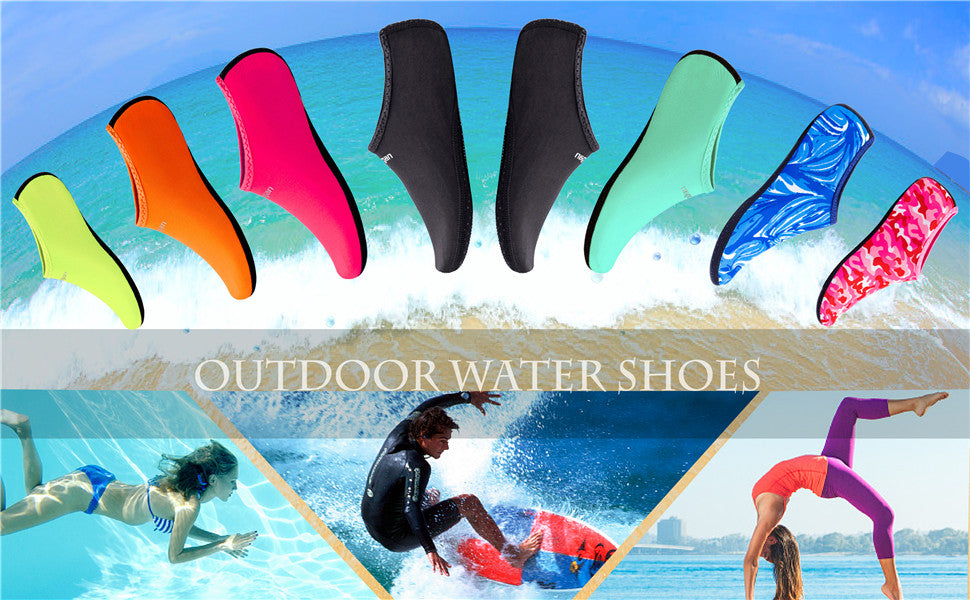 Women and Men Water Shoes Barefoot Quick