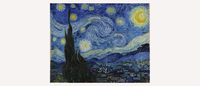 Van Gogh's Starry Night Inspired Art