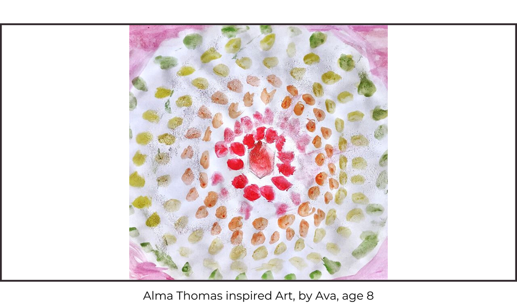 Alma Thomas Children's Art Class
