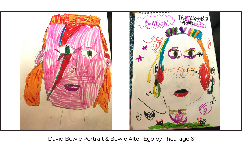 David Bowie Children's Art Class
