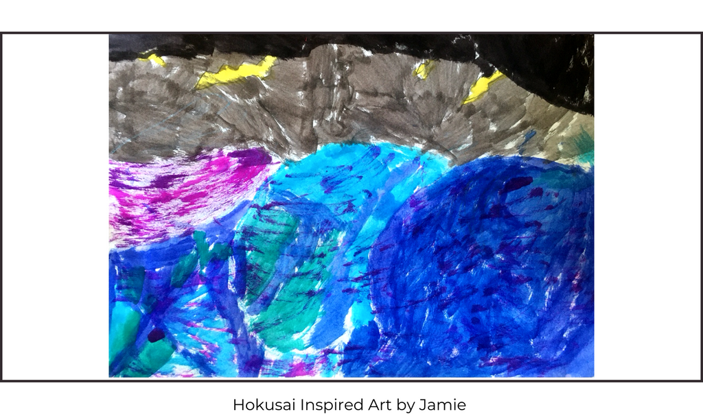 Hokusai's Great Wave Children's Art Class