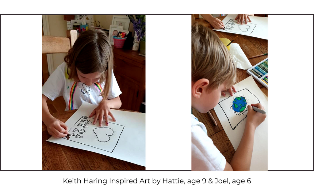 Keith Haring Children's Art Class
