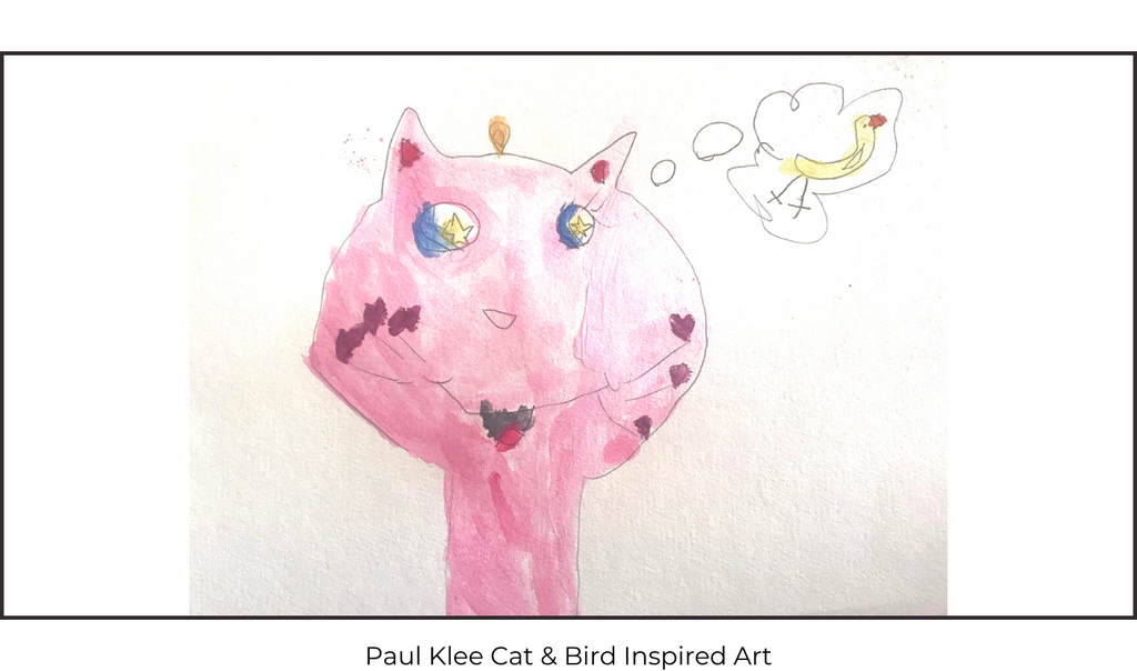 Paul Klee Cat & Bird Children's Art Class