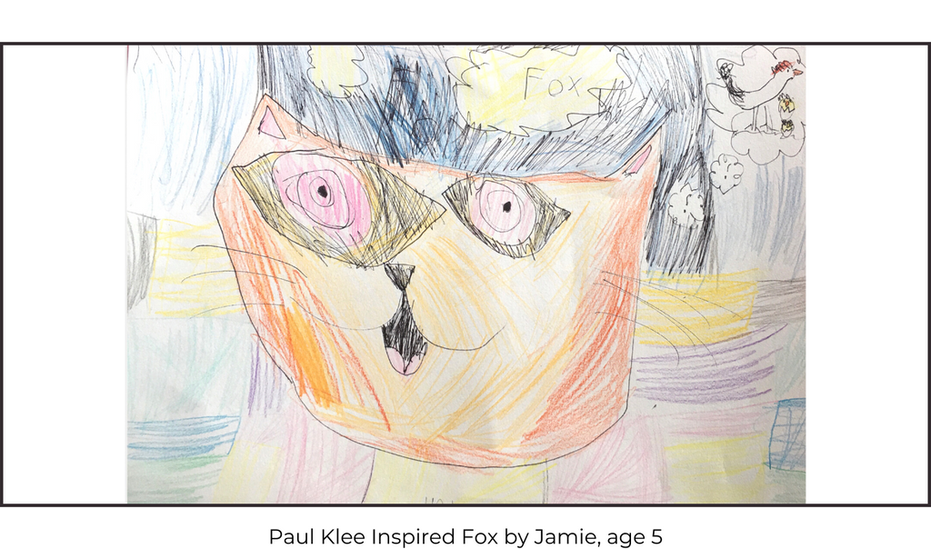 Paul Klee Cat And Bird Children's Art Class