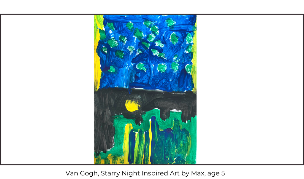 Van Gogh's Starry Night Children's Art Class