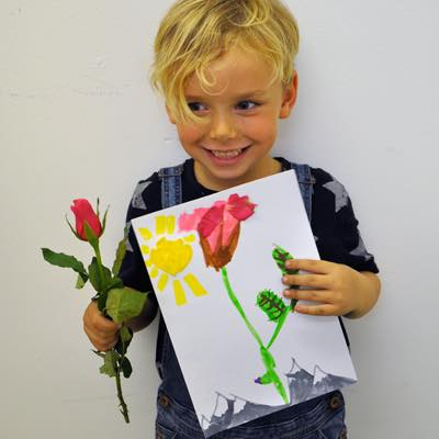 Flower Study Children's Art Workshop - Dot Kids Ltd