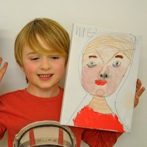 Father's Day Portrait Children's Art Workshop - Dot Kids Ltd
