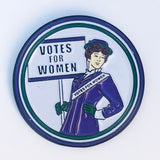 Votes For Women Suffragette Enamel Pin - Dot Kids Ltd