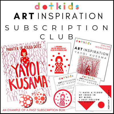 Art Inspiration For Children: Subscription With Free UK P+P