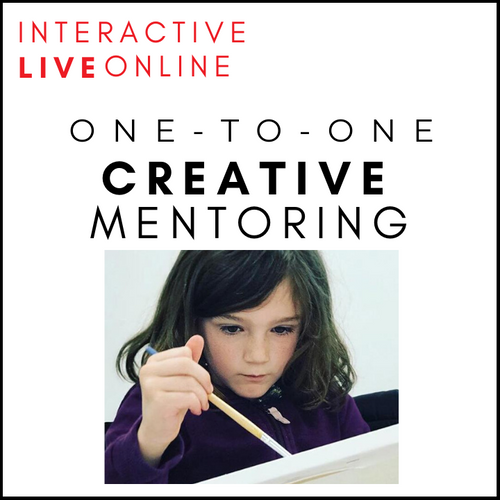 Online One-To-One Creative Mentoring for Children