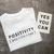 POSITIVITY T-Shirt : White & Black