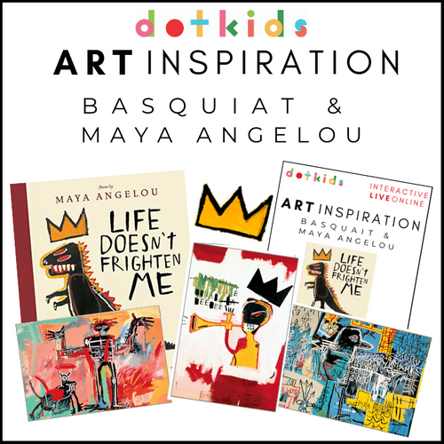 Art Inspiration December Edition: Maya Angelou & Jean-Michel Basquiat