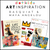 Art Inspiration Gift Box & On-Demand Workshop: Maya Angelou & Jean-Michel Basquiat