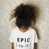 EPIC T-Shirt: White & Black
