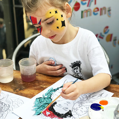 Frida Kahlo Children's Art Party