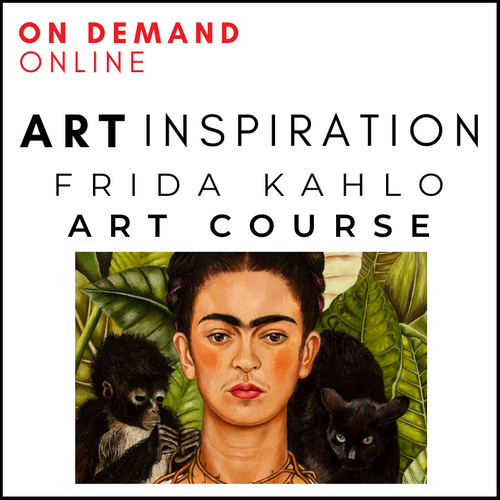 Frida Kahlo Online Art Course For Children
