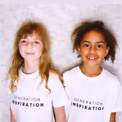 GENERATION INSPIRATION T-Shirt : White & Black