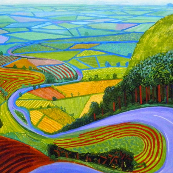 Hockney Landscape's At The Farm - Children's Art Workshop - Dot Kids Ltd