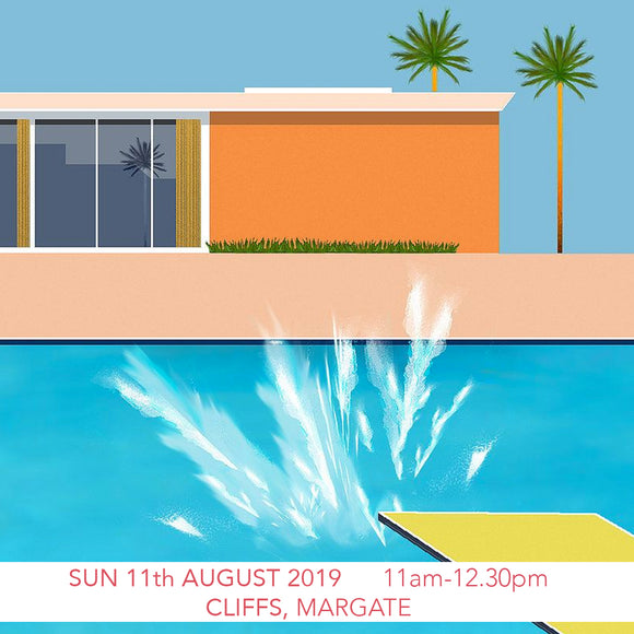 Margate Sunday Sessions: Hockney's Swimming Pools Children's Art Workshop